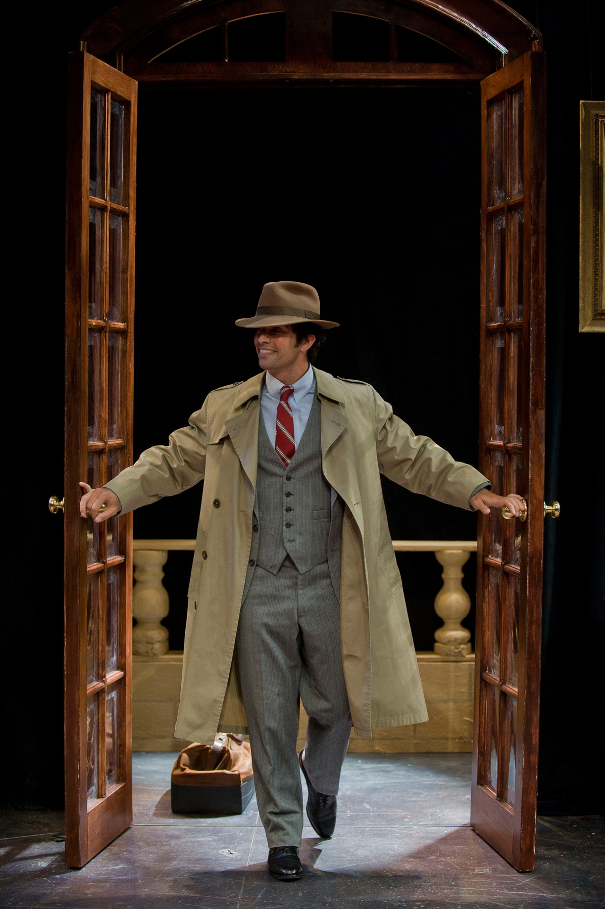 The Real Inspector HoundShakespeare & CompanyPhoto: Kevin Sprague